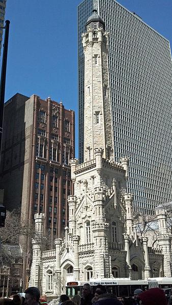 Водонапорная башня - достопримечательности Чикаго