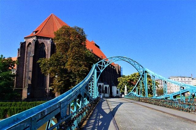 Тумский мост - достопримечательности Вроцлава