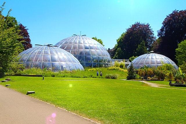 Старый ботанический сад - достопримечательности Цюриха
