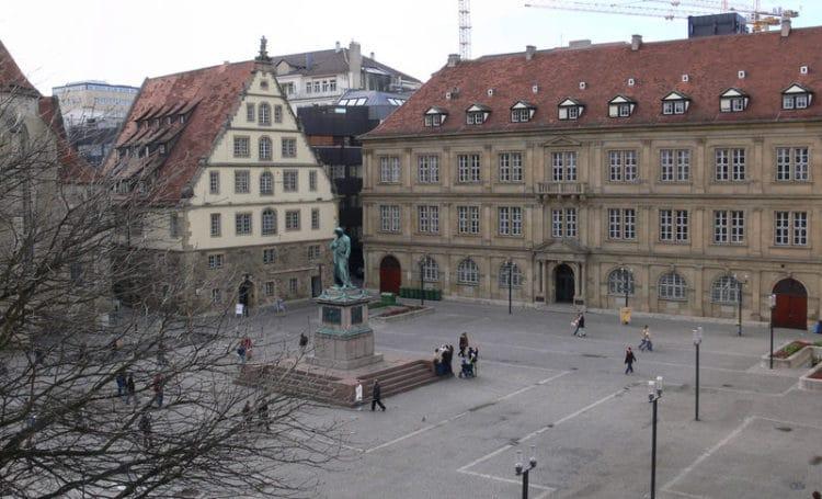 Площадь Шиллера - достопримечательности Штутгарта