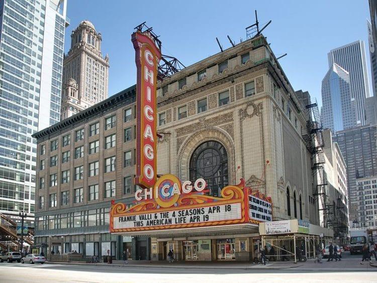 Театр Чикаго - достопримечательности Чикаго