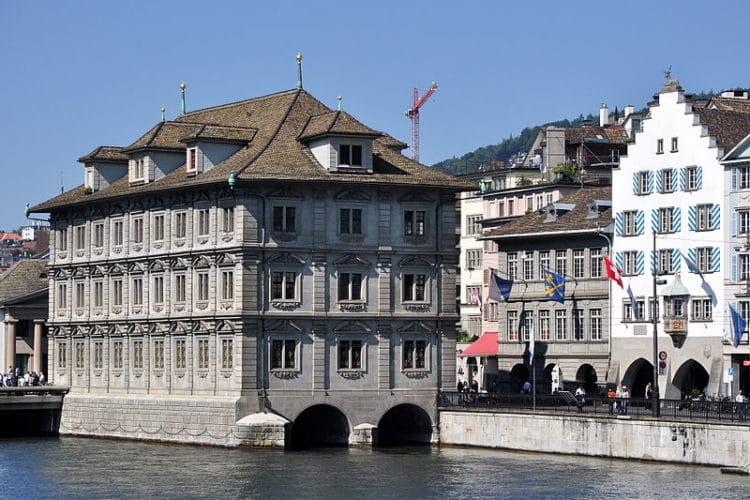 Ратуша - достопримечательности Цюриха