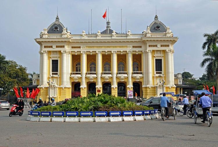 Ханойский оперный театр - достопримечательности Ханоя