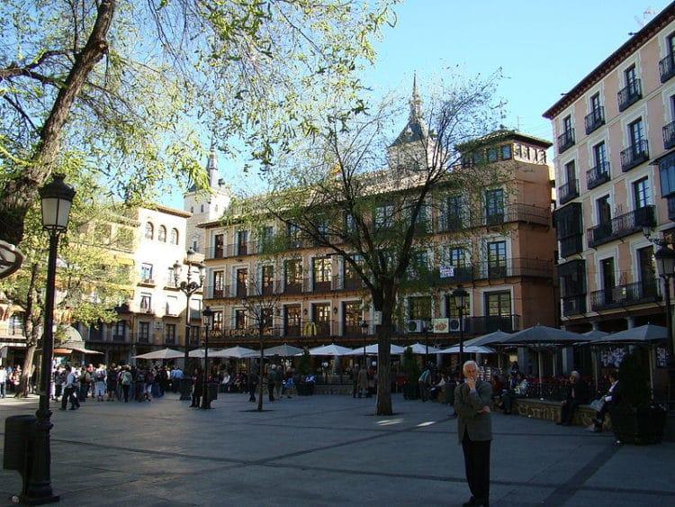 Площадь Сокодовер - достопримечательности Толедо