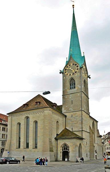 Церковь Фраумюнстер - достопримечательности Цюриха