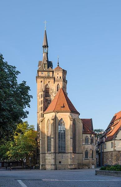 Монастырская церковь - достопримечательности Штутгарта