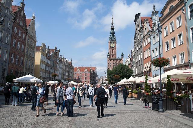 Королевский тракт - достопримечательности Гданьска