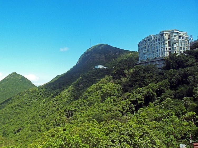 Пик Виктория-достопримечательности Гонконга