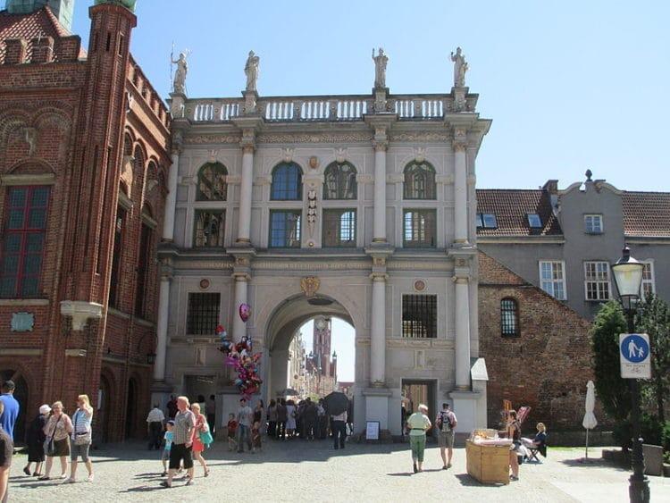 Золотые ворота - достопримечательности Гданьска
