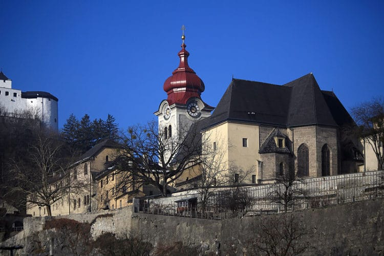 Ноннбергское аббатство - достопримечательности Зальцбурга