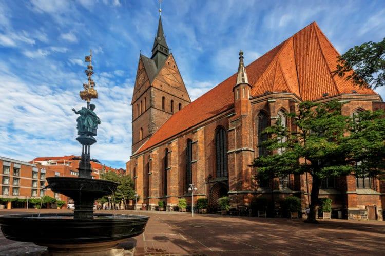 Рыночная церковь - достопримечательности Ганновера