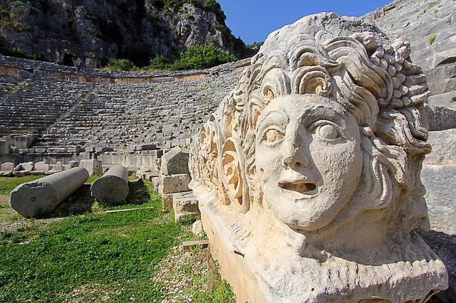Достопримечательности Турции - Древний город Демре-Мира