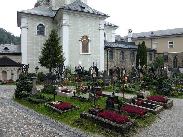 Кладбище Святого Петра - достопримечательности Зальцбурга