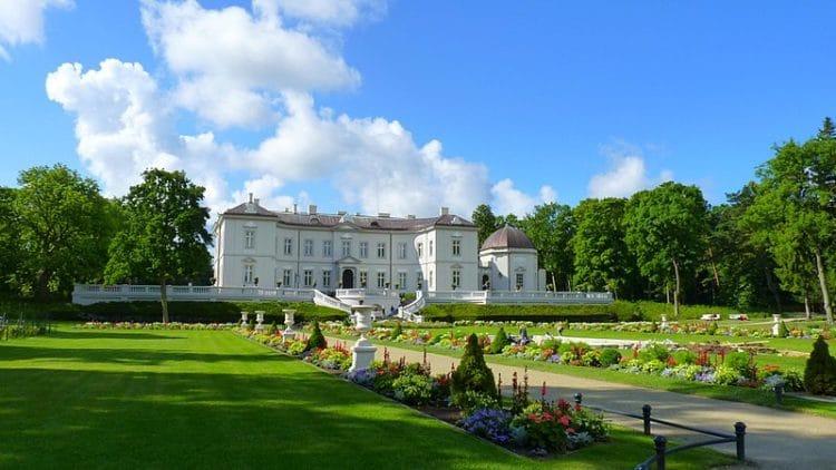 Дворец Тышкевичей в Литве