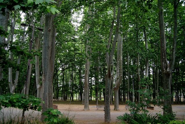 Парк де ла Девеса - достопримечательности Жироны