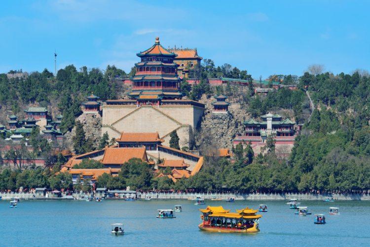 Летний императорский дворец в Китае
