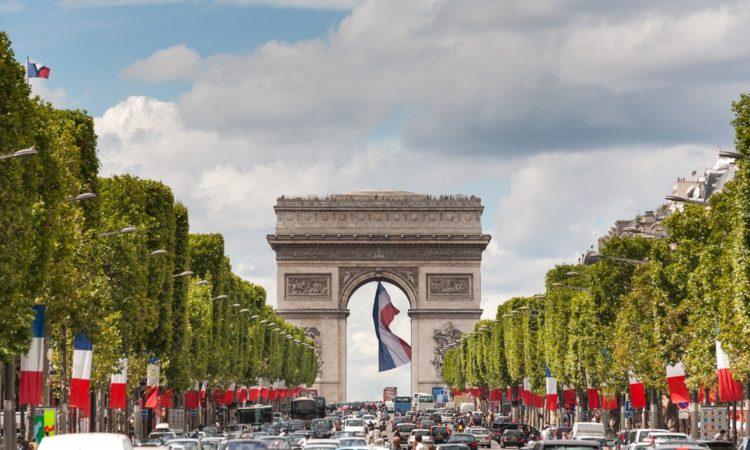Триумфальная арка во Франции