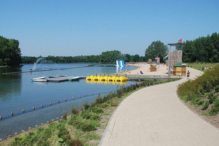 Парк спорта и отдыха - Blaarmeersen - достопримечательности Гента