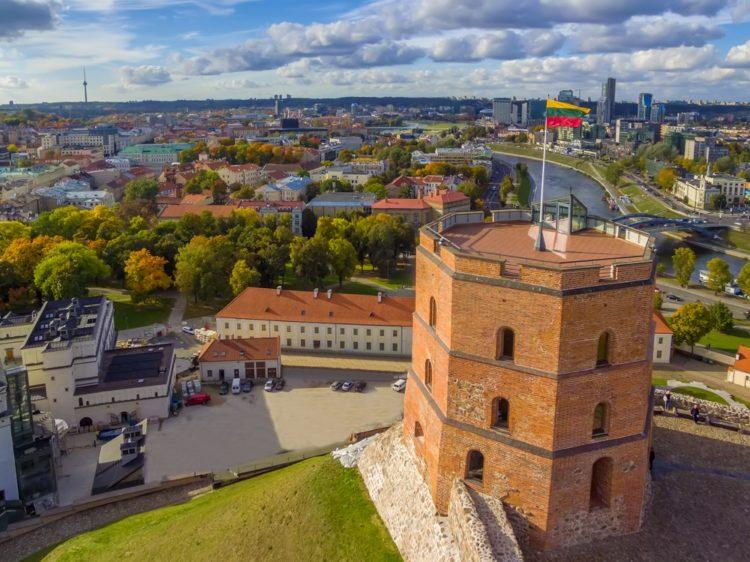 Башня Гедимина в Литве