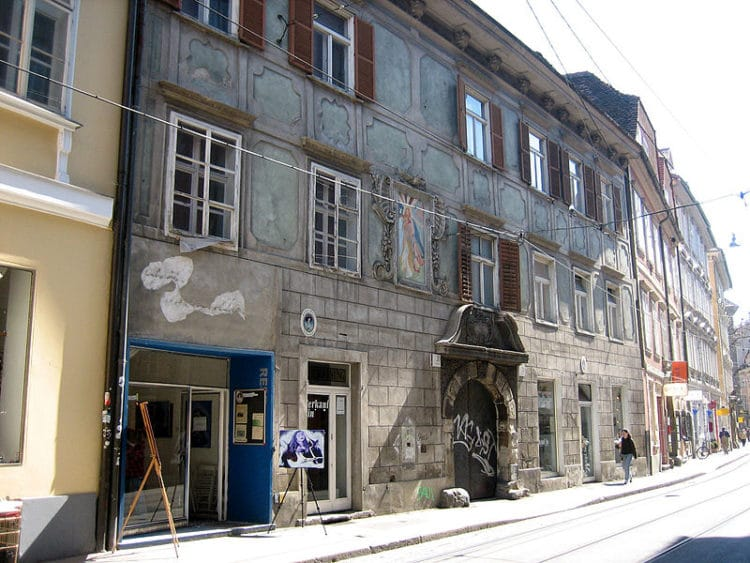 Улица «Sackstrasse» - достопримечательности Граца
