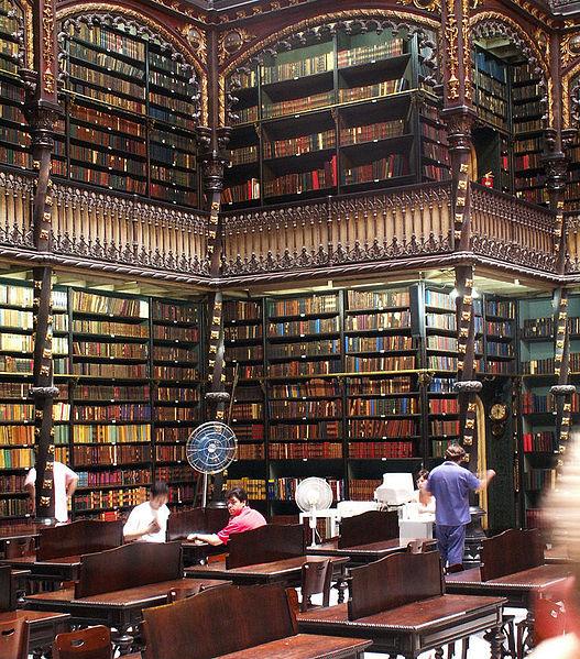 Португальская королевская библиотека в Бразилии