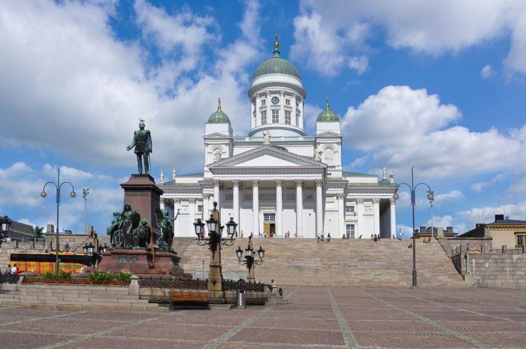 Сенатская площадь в Финляндии