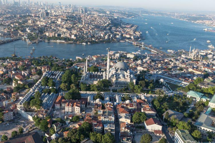 Бухта Золотой Рог в Турции