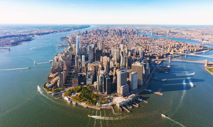 Манхэттен в США