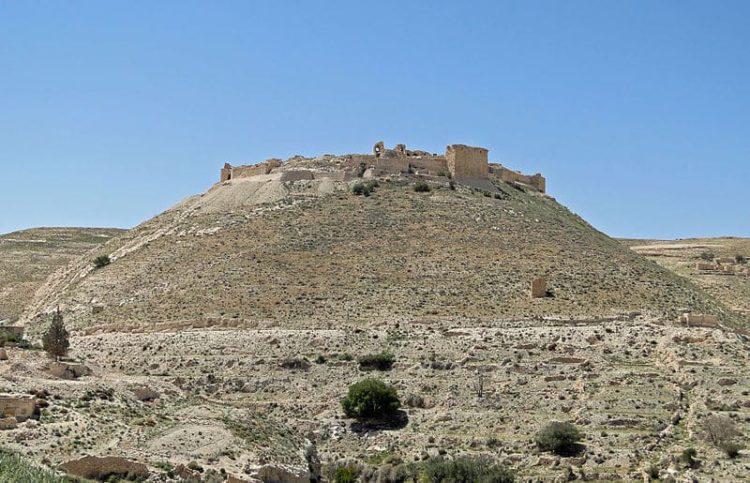 Замок Монреаль (Шобак) в Иордании