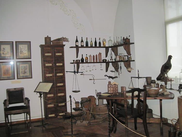 Аптека-музей - достопримечательности Гродно