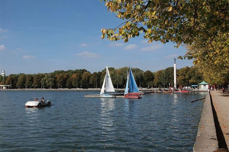 Озеро Маш - достопримечательности Ганновера