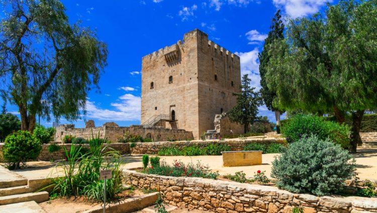 Замок Колоссина Кипре