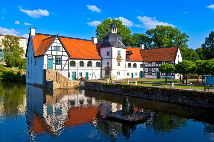 Старый город «Ден Гамле Бю» в Дании