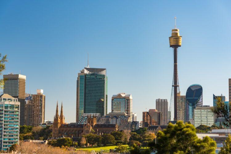 Сиднейская Башня в Австралии