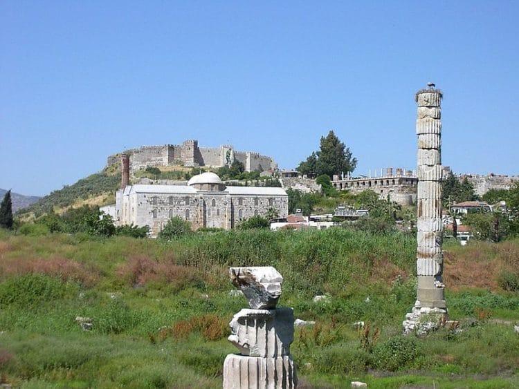 Древний город Эфес в Турции