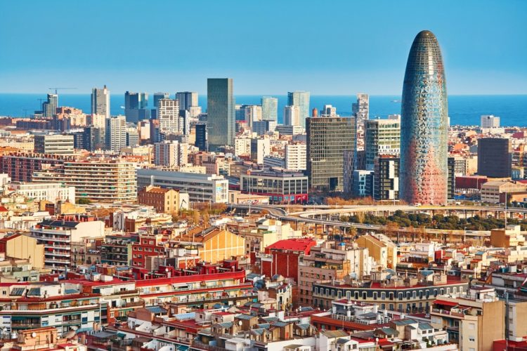 Башня Агбар в Испании