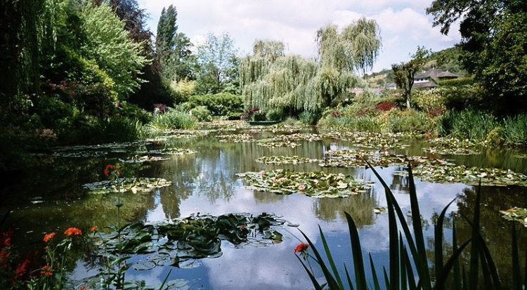 Сад Клода Моне в Живерни во Франции