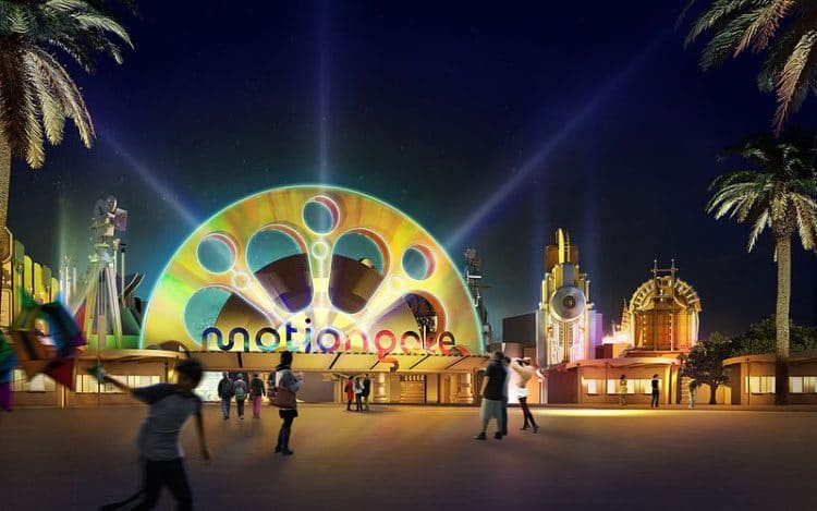 Парк Motiongate в ОАЭ
