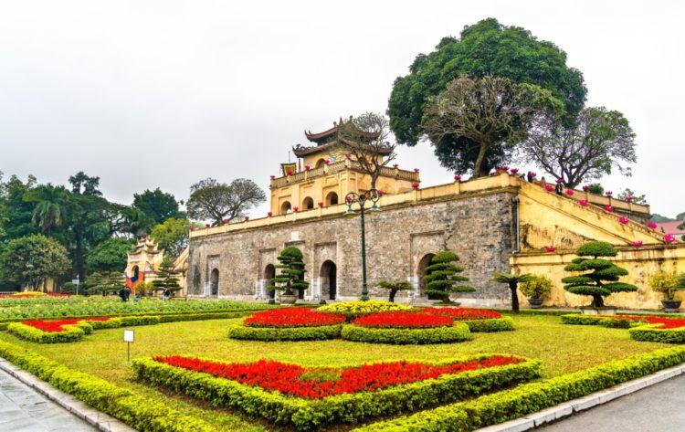 Ханойская цитадель во Вьетнаме