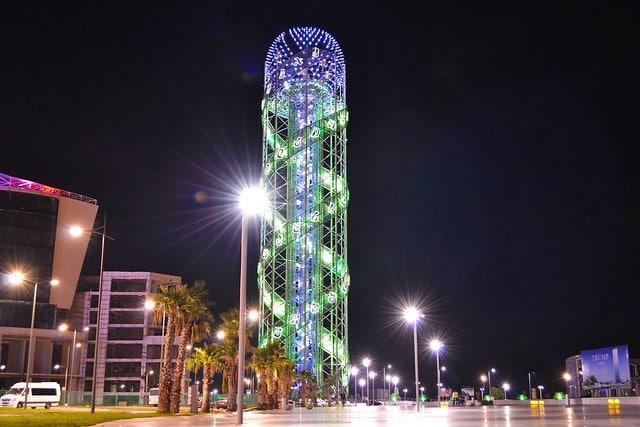 Башня «Алфавит» в Грузии