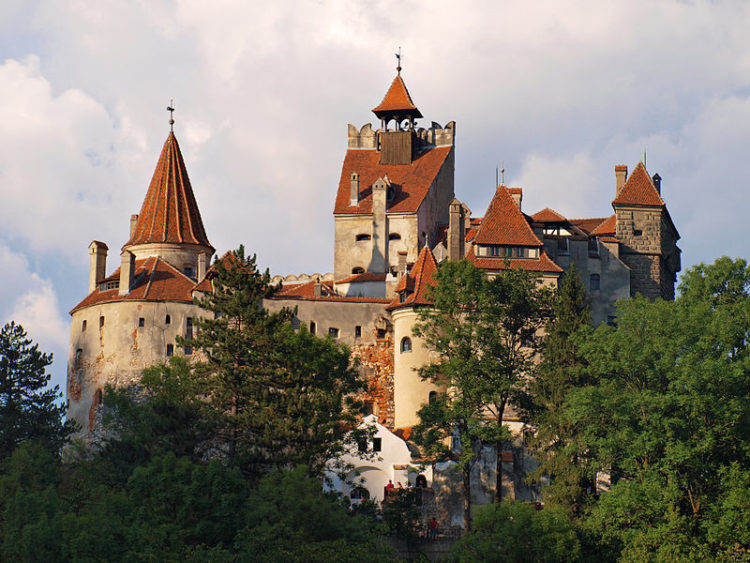 Замок Бран - достопримечательности Румынии