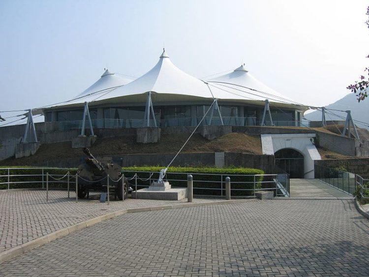Гонконгский музей береговой обороны в Китае