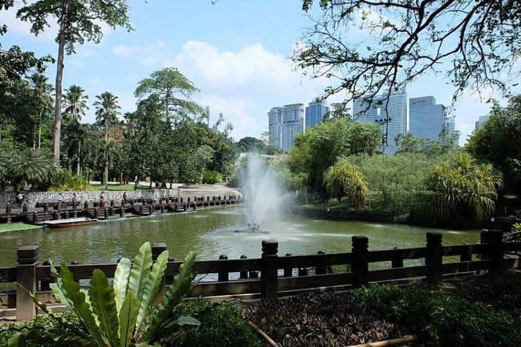 Ботанический сад Пердана в Малайзии