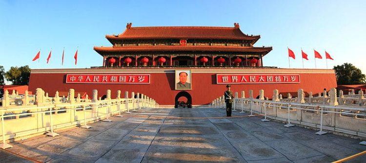 Врата Небесного Спокойствия в Китае