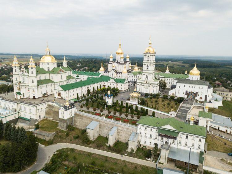 Почаевская лавра на Украине