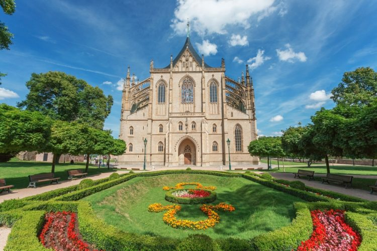 Собор Святой Варвары в Чехии