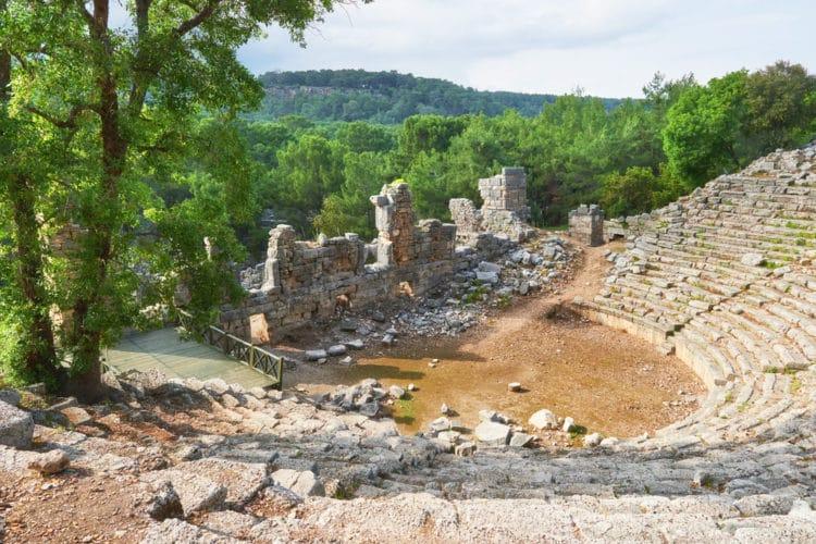 Древний город Троя в Турции