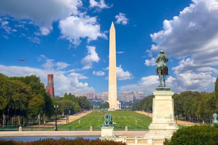 Монумент Вашингтона в США
