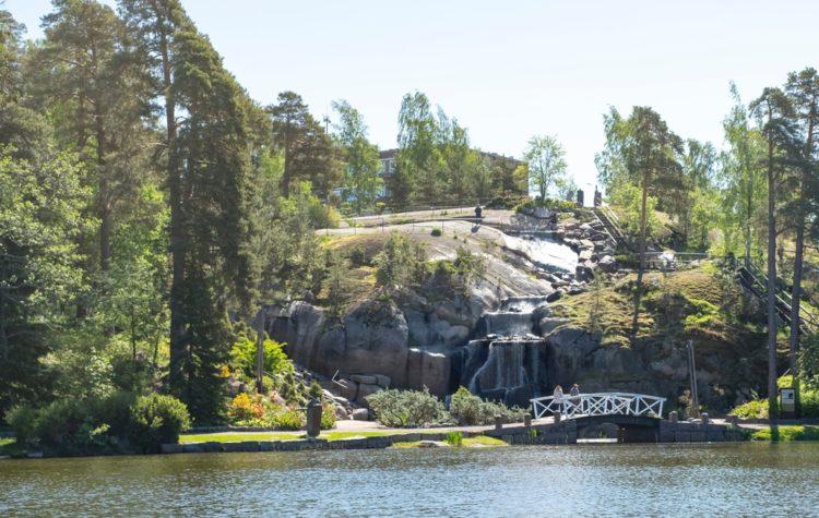 Водный парк Сапокка в Финляндии