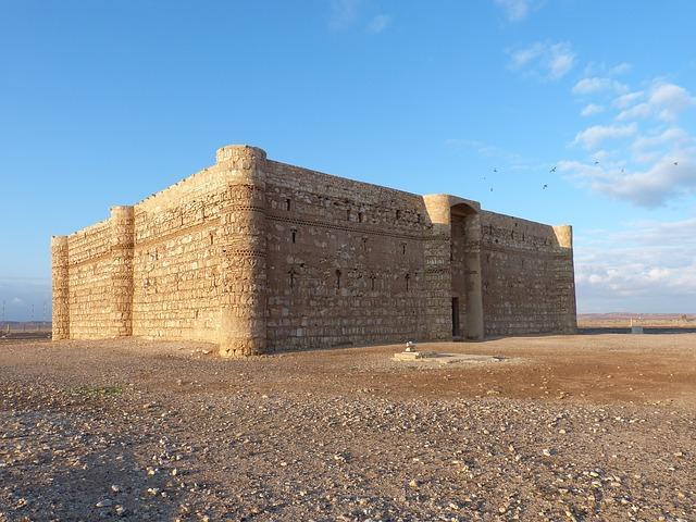 Халифские дворцы пустыни в Иордании